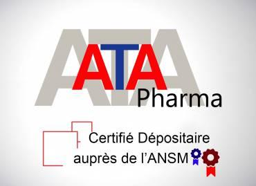 ATA Pharma dépositaire